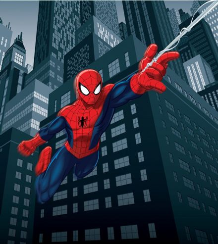 "Wallpapers for boys room ""Spider Man"""